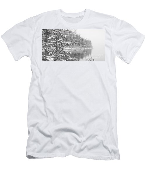 Touch Of Winter Men's T-Shirt (Athletic Fit)