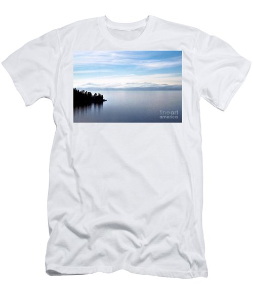 Tranquility - Lake Tahoe Men's T-Shirt (Athletic Fit)