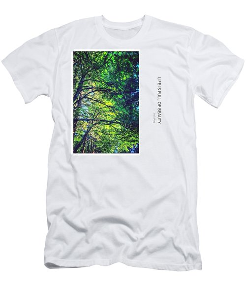 Tree Canopy From My Afternoon Walk Men's T-Shirt (Athletic Fit)