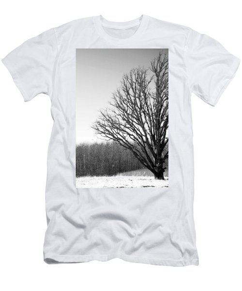 Tree In Winter 2 Men's T-Shirt (Athletic Fit)