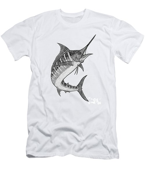 Tribal Marlin IIi Men's T-Shirt (Athletic Fit)