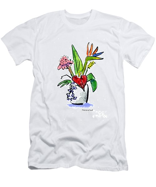 Tropical Mix Men's T-Shirt (Athletic Fit)