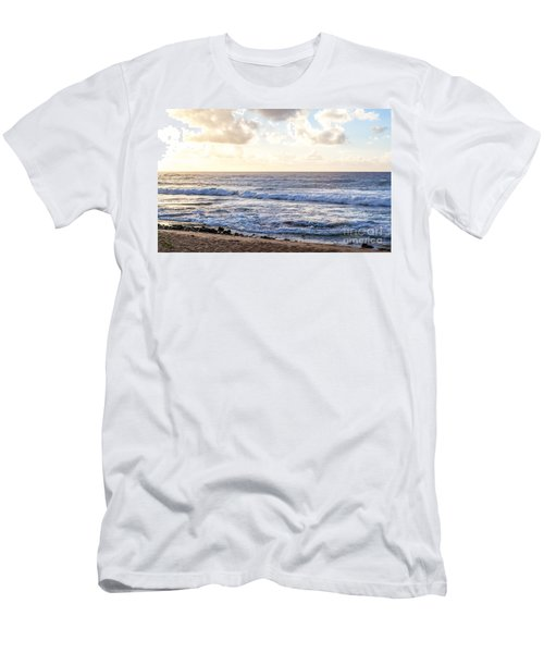 Men's T-Shirt (Slim Fit) featuring the photograph Tropical Morning  by Roselynne Broussard