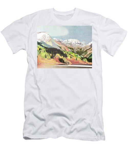 Trout Lake Colorado Men's T-Shirt (Slim Fit) by Dan Miller