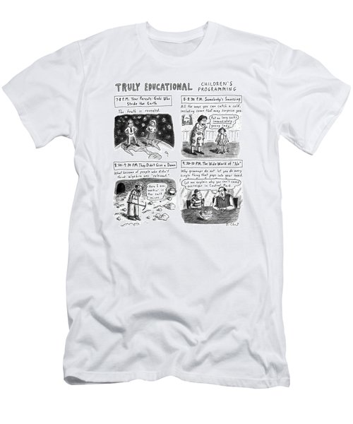 Truly Educational Children's Programming Men's T-Shirt (Athletic Fit)