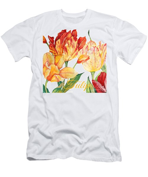 Tulip-jp2583 Men's T-Shirt (Athletic Fit)