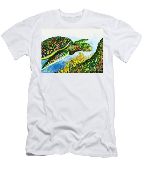 Turtle Love Men's T-Shirt (Athletic Fit)