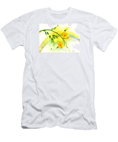 Men's T-Shirt (Slim Fit) featuring the painting 'twas By Grace by Holly Carmichael