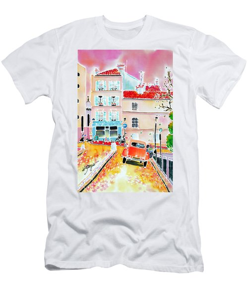 Twilight Montmartre Men's T-Shirt (Athletic Fit)
