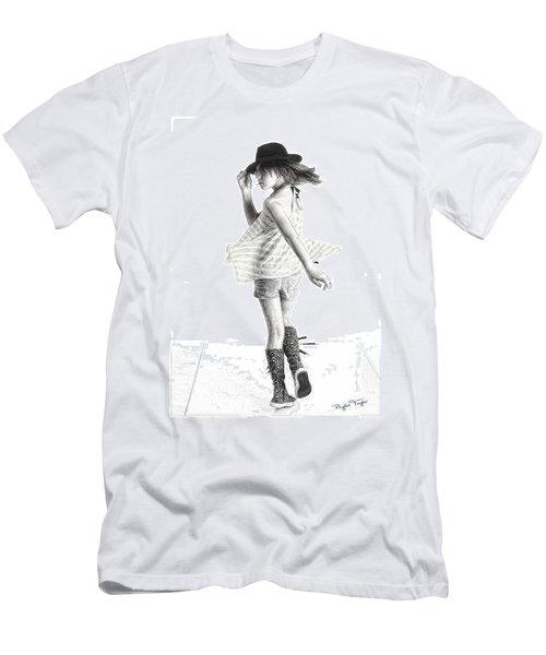 Twirl Men's T-Shirt (Athletic Fit)