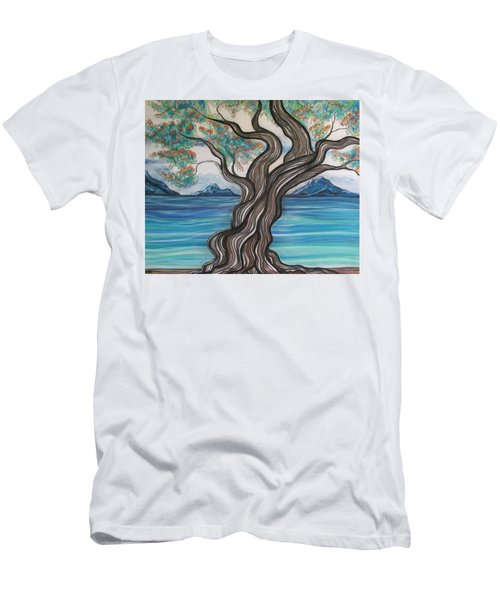 Twisted Tree Men's T-Shirt (Athletic Fit)
