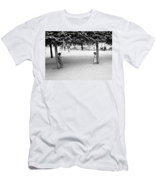Two Kids In Paris Men's T-Shirt (Athletic Fit)