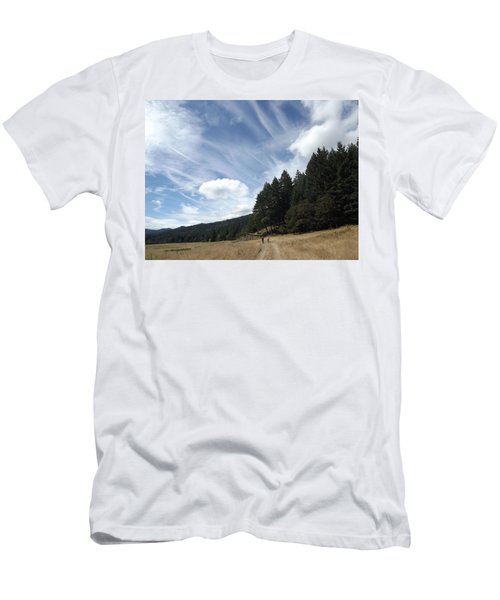 Men's T-Shirt (Slim Fit) featuring the photograph Two Of A Kind by Richard Faulkner
