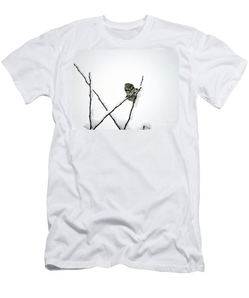 Two Sparrows Men's T-Shirt (Athletic Fit)