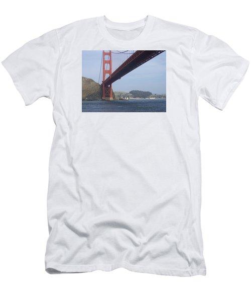 Under The Golden Gate - San Francisco Golden Gate Bridge 2006 - Scenic Photography - Ai P. Nilson Men's T-Shirt (Athletic Fit)