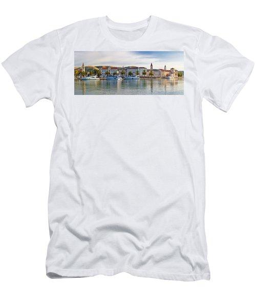 Unesco Town Of Trogit View Men's T-Shirt (Athletic Fit)