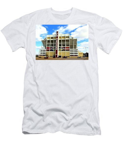 University Of Louisiana At Monroe Malone Stadium Men's T-Shirt (Slim Fit) by Kathy  White