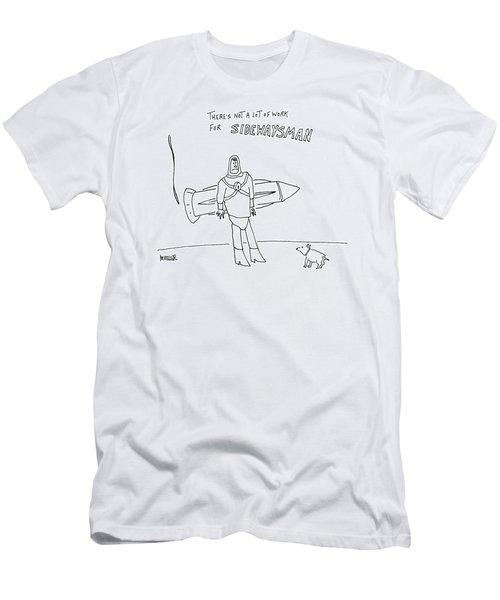 Sidewaysman Men's T-Shirt (Athletic Fit)