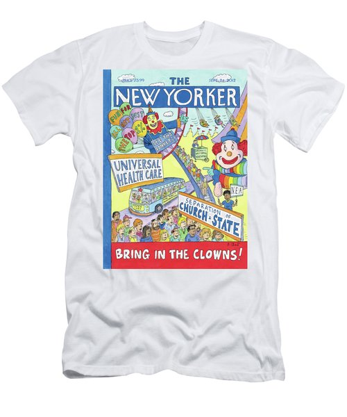 New Yorker September 24th, 2012 Men's T-Shirt (Athletic Fit)