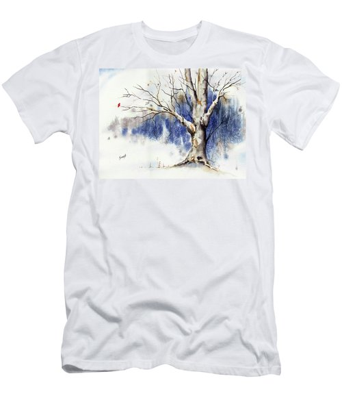 Untitled Winter Tree Men's T-Shirt (Athletic Fit)