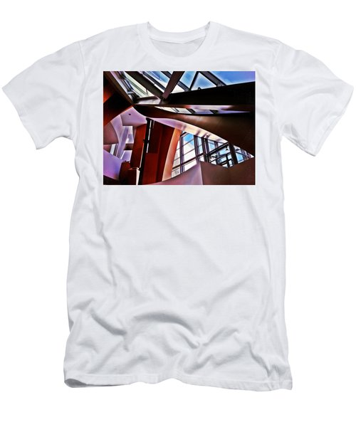 Urban Abstraction Men's T-Shirt (Slim Fit) by Mark David Gerson
