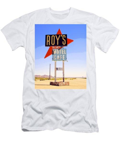 Vacancy Route 66 Men's T-Shirt (Athletic Fit)