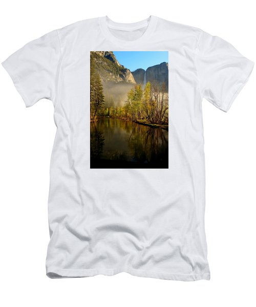 Vanishing Mist Men's T-Shirt (Slim Fit) by Duncan Selby