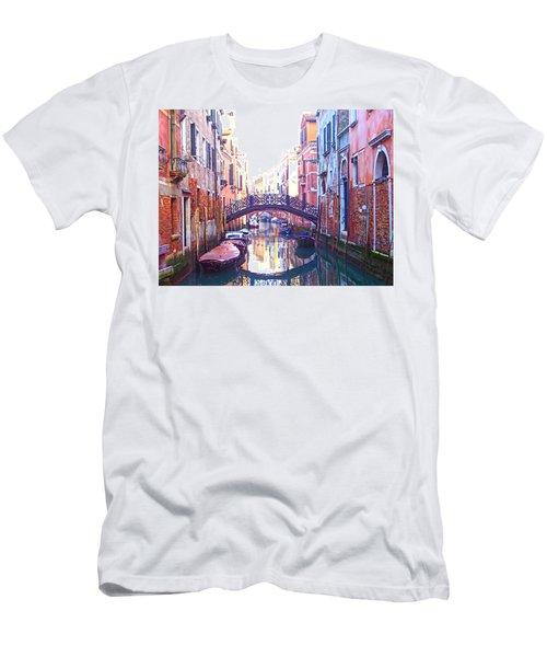 Venetian Reflections Men's T-Shirt (Athletic Fit)