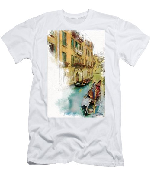 Venice 1 Men's T-Shirt (Athletic Fit)