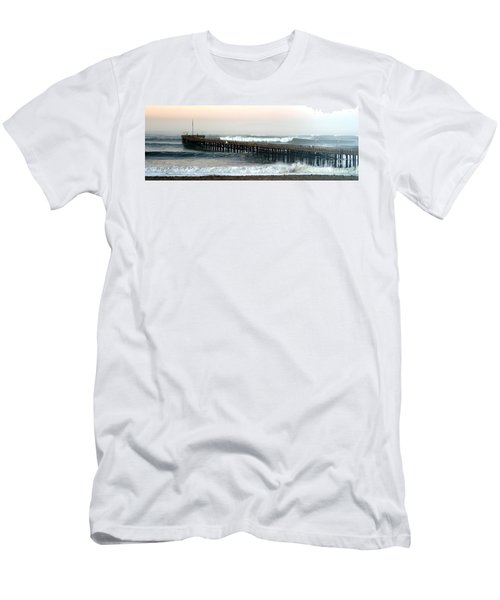 Ventura Storm Pier Men's T-Shirt (Athletic Fit)