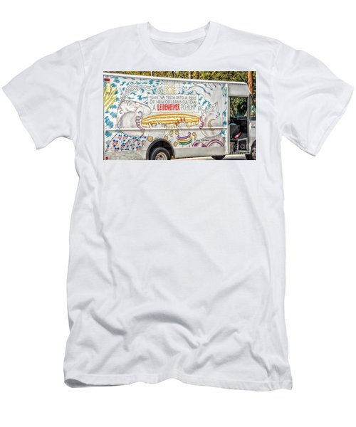 Vic And Nat'ly And The Leidenheimer Po-boy Truck - New Orleans Men's T-Shirt (Slim Fit) by Kathleen K Parker