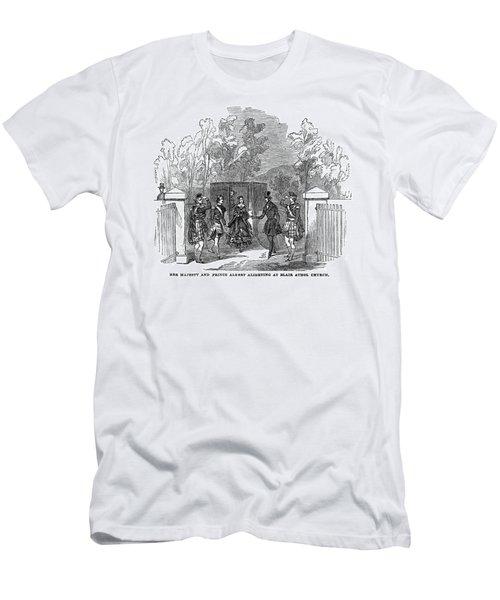 Victoria & Albert, 1844 Men's T-Shirt (Athletic Fit)
