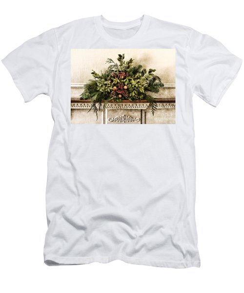 Victorian Christmas Men's T-Shirt (Athletic Fit)