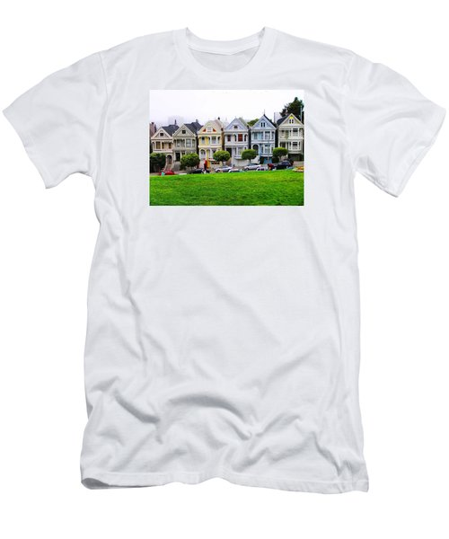 San Francisco Architecture Men's T-Shirt (Slim Fit) by Oleg Zavarzin