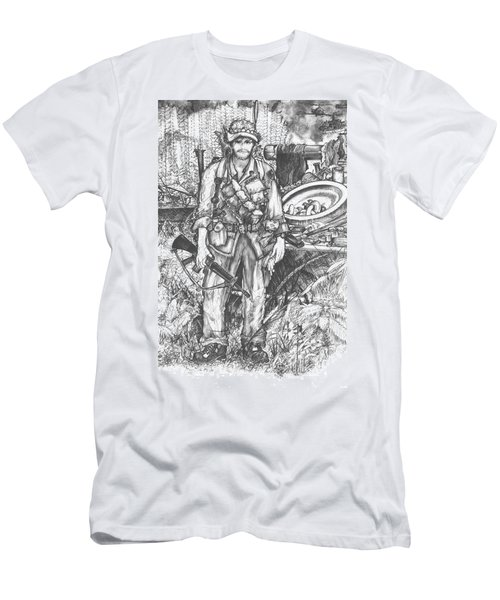 Vietnam Soldier Men's T-Shirt (Athletic Fit)