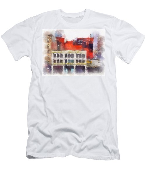 View From A New York Window Men's T-Shirt (Athletic Fit)