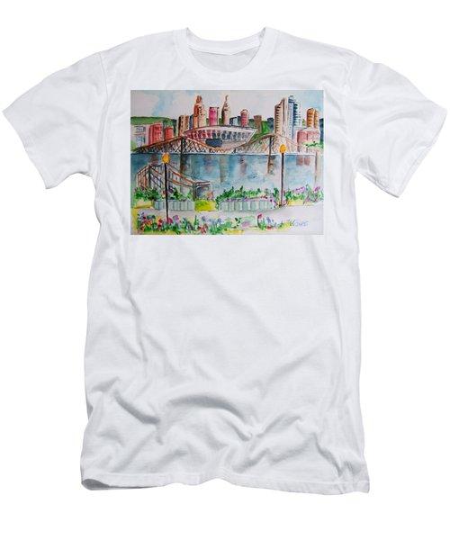 View From Devou Men's T-Shirt (Athletic Fit)