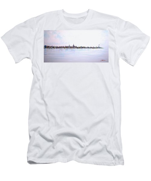 View From The Hudson Men's T-Shirt (Slim Fit)