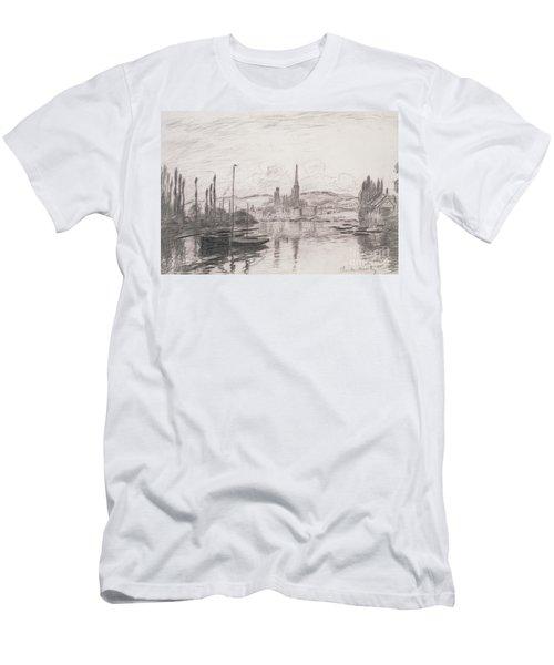 View Of Rouen Men's T-Shirt (Athletic Fit)