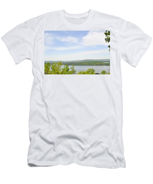 View Of The Mountains Of Alabama Men's T-Shirt (Athletic Fit)