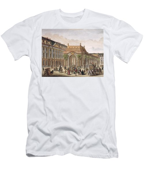 View Of The Place De Louis Le Grand Men's T-Shirt (Athletic Fit)
