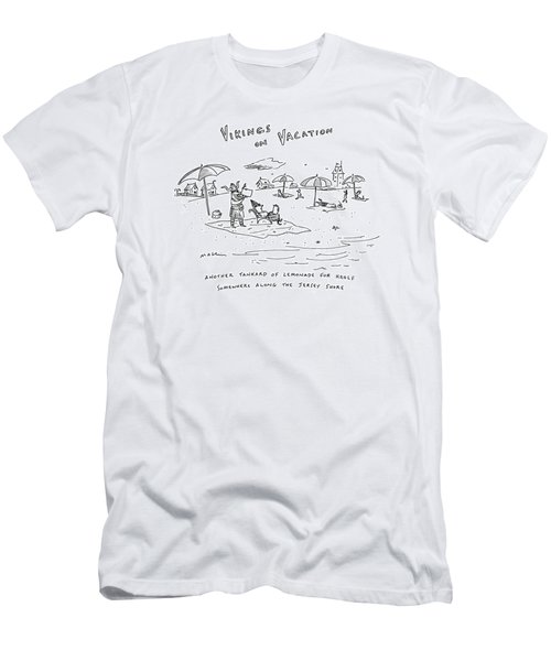Vikings On Vacation  Another Tankard Of Lemonade Men's T-Shirt (Athletic Fit)