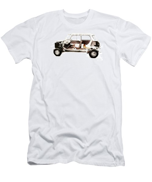 Vintage Car  Men's T-Shirt (Athletic Fit)
