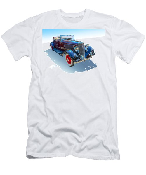 Men's T-Shirt (Slim Fit) featuring the photograph Vintage Convertible by Gianfranco Weiss