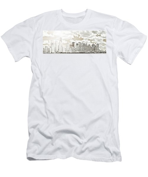 Men's T-Shirt (Slim Fit) featuring the photograph Visions In My Mind by Janie Johnson