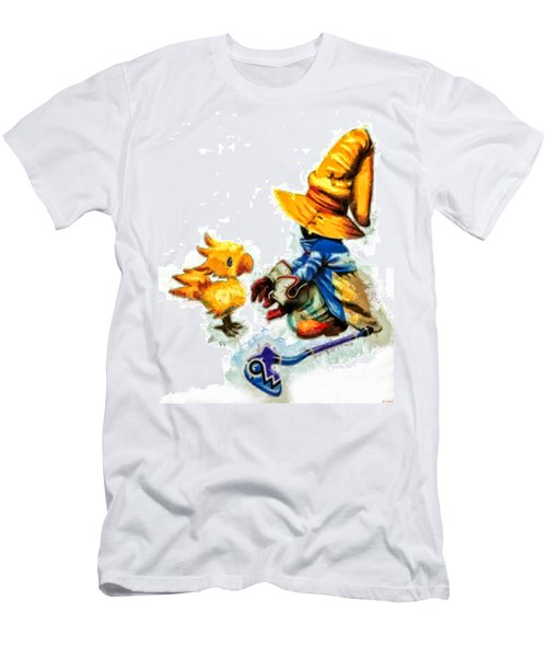 Vivi And The Chocobo Men's T-Shirt (Athletic Fit)