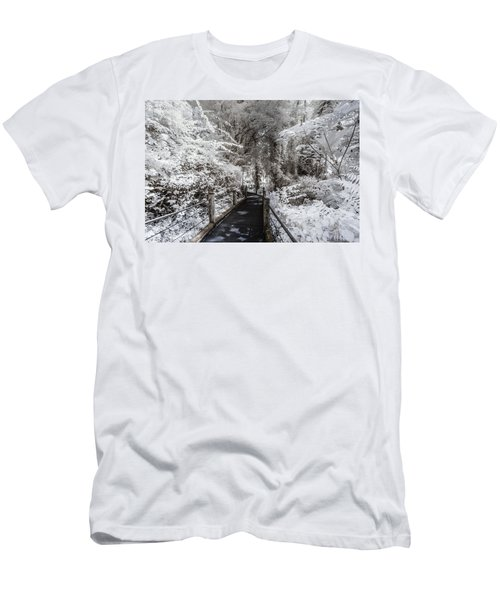 Walking Into The Infrared Jungle 1 Men's T-Shirt (Athletic Fit)