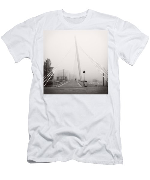 Walking Through The Mist Men's T-Shirt (Athletic Fit)
