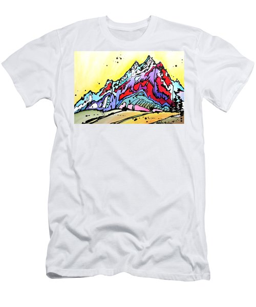 Waning Seasons In The Tetons Men's T-Shirt (Athletic Fit)