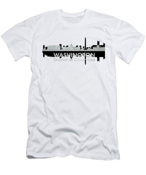 Washington Dc 4 Men's T-Shirt (Athletic Fit)